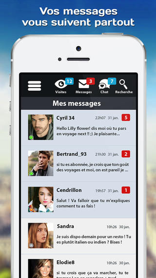 Application rencontre gratuite android